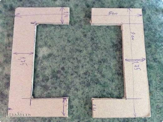Мастер-класс Поделка изделие Декупаж Моделирование конструирование Колодец в стиле шебби шик Картон Краска Салфетки фото 11