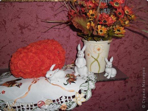 Пасхальные яйца из салфетных цветов. фото 1