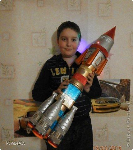 Как сделать поделку ракету из бутылки своими руками
