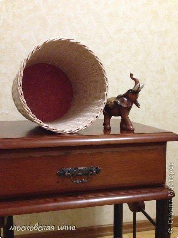 Привет, всем жителям Страны. Сегодня у меня будет небольшой пост о корзинке и слоне. Фото не очень, т.к. были сделаны ночью на телефон. фото 2