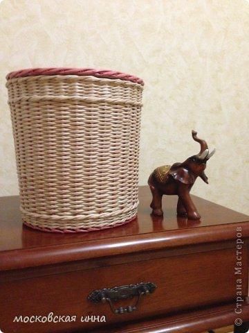 Привет, всем жителям Страны. Сегодня у меня будет небольшой пост о корзинке и слоне. Фото не очень, т.к. были сделаны ночью на телефон. фото 3