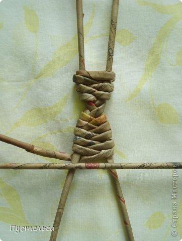 Поделка изделие Плетение Тараканище Бумага газетная Трубочки бумажные фото 5