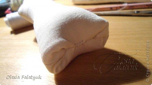 Первый МК по созданию куклы Darina + Выкройка.   фото 73