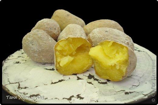 Необычный способ приготовления картошки. Картофель получается вкусный и очень похож на печённый на костре. фото 1