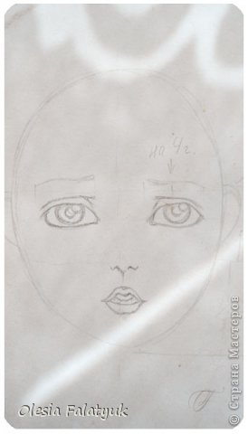 Помимо того, что делать кукол я ещё иногда рисую. В основном девушек: портреты, наряды и фигуры в движении. Вот как получается. Училась сама.  фото 13