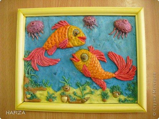 рыбки с медузами
