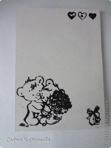Вот такие открытки у меня получились, в первый раз попробовала сделать сама цветы. фото 3