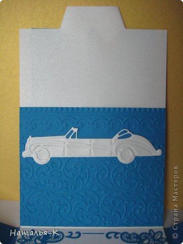 Поздравительная открытка. Плотность бумаги для пиджака 270 гр. Плотность бумаги для безрукавки 130 гр. Плотность бумаги для рубашки можно от 80 до 130 гр. ( у меня 80 гр.) фото 7