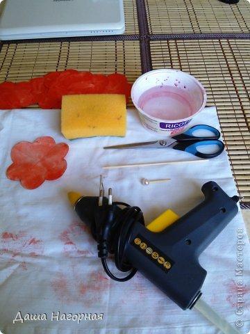 Мастер-класс Поделка изделие Бумагопластика Плетение мк по розам из акварельной бумаги Акварель Бумага газетная Клей фото 7