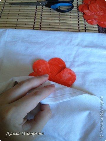 Мастер-класс Поделка изделие Бумагопластика Плетение мк по розам из акварельной бумаги Акварель Бумага газетная Клей фото 12