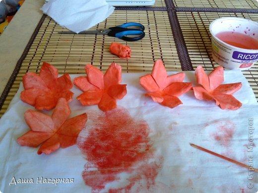 Мастер-класс Поделка изделие Бумагопластика Плетение мк по розам из акварельной бумаги Акварель Бумага газетная Клей фото 30