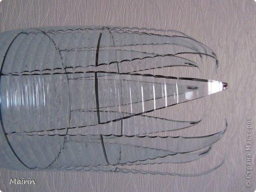 Поделка изделие Моделирование конструирование Амфора для сада Бутылки пластиковые Гипс Краска фото 2
