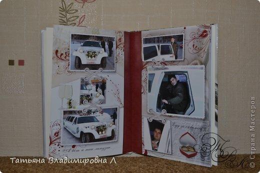 """Мария, как и обещала, выкладываю фотографии своих фотокниг.  Фотографий будет много ))))) Дизайн и обработку фотографий делала сама, в специальных программах. Это первая книга """"Свадебная"""" фото 3"""