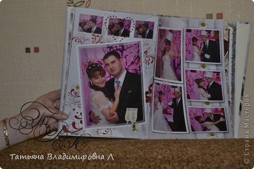 """Мария, как и обещала, выкладываю фотографии своих фотокниг.  Фотографий будет много ))))) Дизайн и обработку фотографий делала сама, в специальных программах. Это первая книга """"Свадебная"""" фото 8"""
