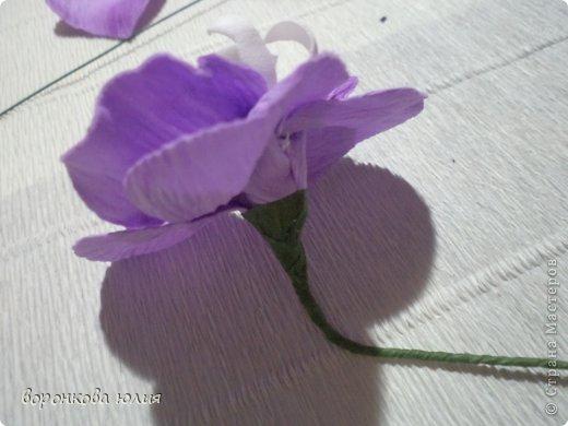 Мастер-класс Поделка изделие Моделирование конструирование цветок орхидеи из фома и как придать структуру листку без молда м к Фоамиран фом фото 21