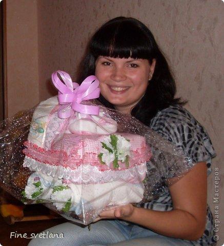 Подарок друзьям! Первый торт и первая коляска! фото 1