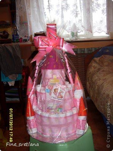 Подарок друзьям! Первый торт и первая коляска! фото 3