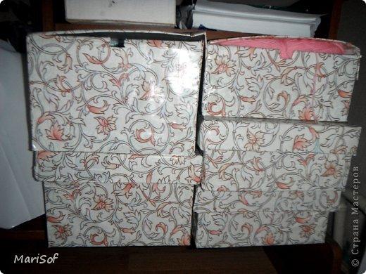 Здравствуйте! Сегодня я к вам с коробочками. В очередной раз решила перебрать весь хлам рукодельный, и вообще. Сделала 3 коробочки. фото 6