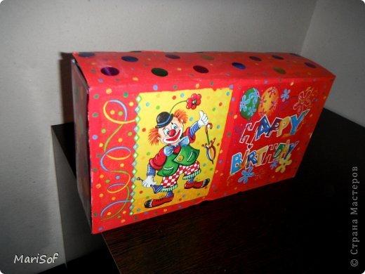 Здравствуйте! Сегодня я к вам с коробочками. В очередной раз решила перебрать весь хлам рукодельный, и вообще. Сделала 3 коробочки. фото 4