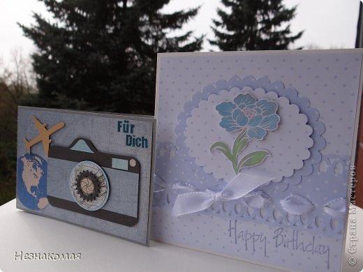 Добрый день всем! Я снова с открытками. Наверное мой отрыв обеспечит меня открытками на год вперед, но пока остановится не могу. фото 13
