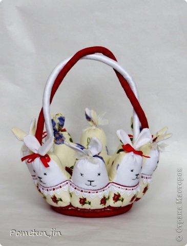 И снова пасхальные корзинки. фото 3