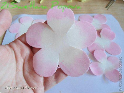 Моя  Роза из Фоамирана!!! фото 22