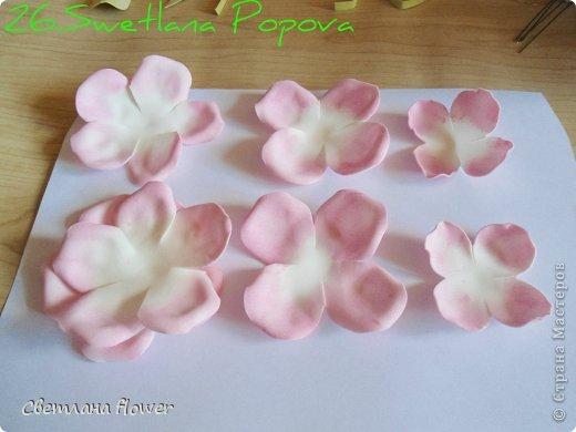 Моя  Роза из Фоамирана!!! фото 27
