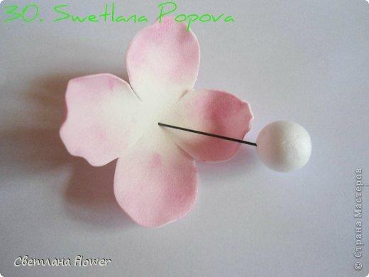 Моя  Роза из Фоамирана!!! фото 31