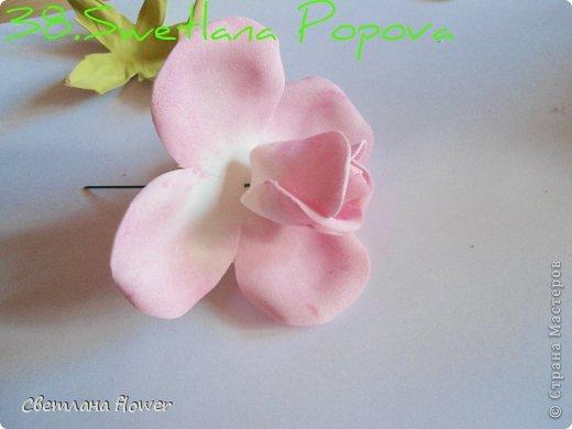 Поделка изделие Моделирование конструирование Моя Роза из Фоамирана  Фоамиран фом фото 39