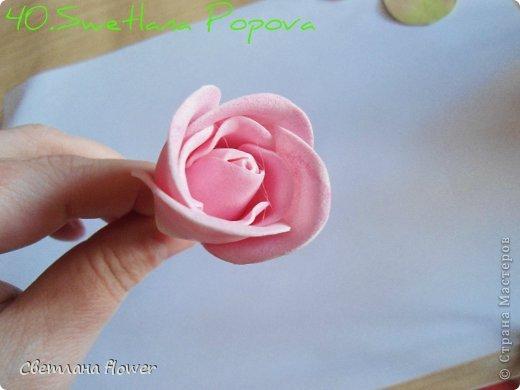 Поделка изделие Моделирование конструирование Моя Роза из Фоамирана  Фоамиран фом фото 41