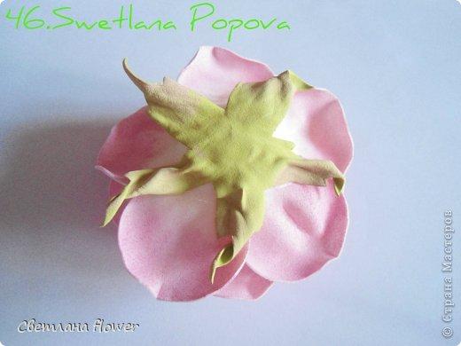 Моя  Роза из Фоамирана!!! фото 47
