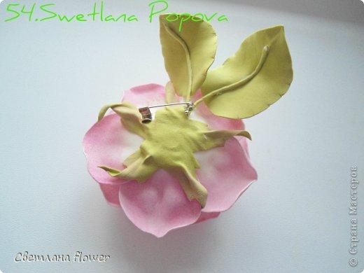 Моя  Роза из Фоамирана!!! фото 55