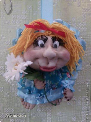 кукла из капрона фото 2