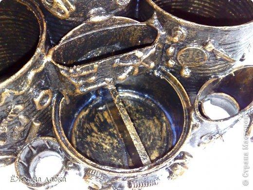 Мастер-класс Поделка изделие Ассамбляж Новая жизнь консервных банок Материал бросовый фото 26