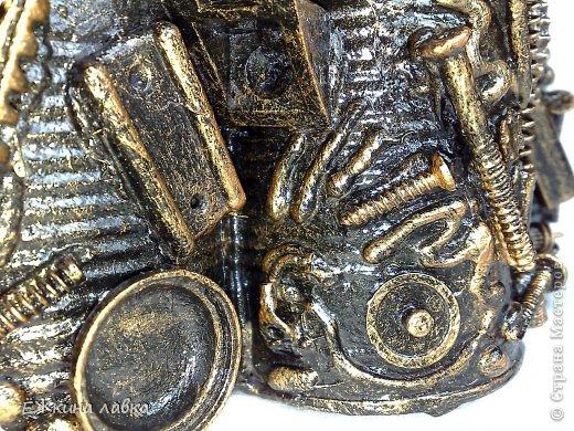 Мастер-класс Поделка изделие Ассамбляж Новая жизнь консервных банок Материал бросовый фото 34