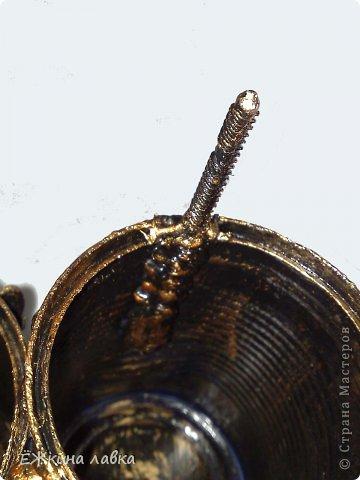 Мастер-класс Поделка изделие Ассамбляж Новая жизнь консервных банок Материал бросовый фото 35