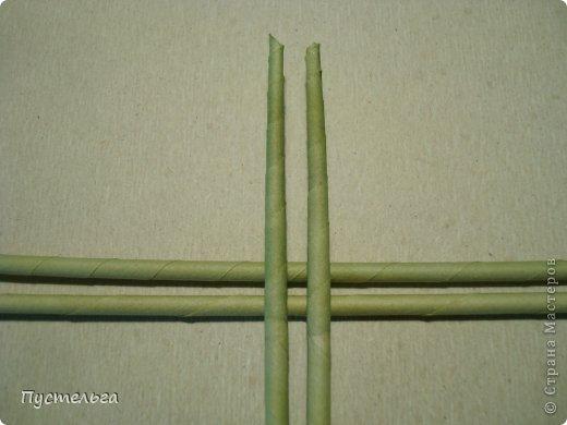 Мастер-класс Поделка изделие Плетение Клоп Бумага газетная Трубочки бумажные фото 2
