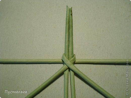 Мастер-класс Поделка изделие Плетение Клоп Бумага газетная Трубочки бумажные фото 3