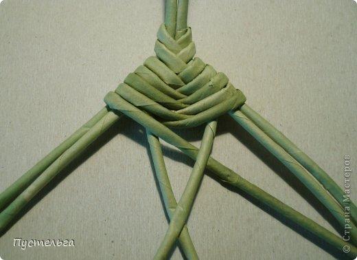 Мастер-класс Поделка изделие Плетение Клоп Бумага газетная Трубочки бумажные фото 7