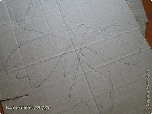 Картина панно рисунок Мастер-класс Аппликация Ассамбляж Картина Картон гофрированный Ракушки фото 4