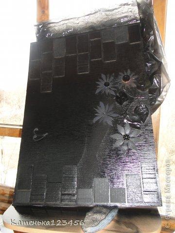 Картина панно рисунок Мастер-класс Аппликация Ассамбляж Картина Картон гофрированный Ракушки фото 18