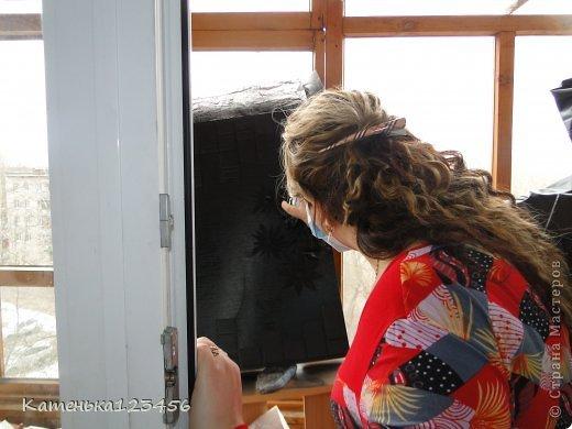 Картина панно рисунок Мастер-класс Аппликация Ассамбляж Картина Картон гофрированный Ракушки фото 19