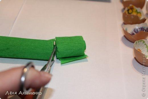 Декор предметов Мастер-класс Пасха Моделирование конструирование Шитьё Украшение для пасхального стола Бисер Бумага газетная Бумага гофрированная Клей Перо Свечи фото 16