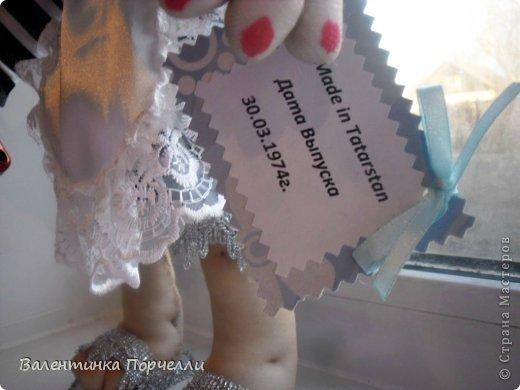 Всем Всем привет!!!Немного отдохнув от 8-ми мартовских заказов я снова с вами!))))Недавно был у меня заказ.Надо было сделать куклу.Каркасную,в фартуке,с поварёжкой,рыжую.Я сказала-легко!А вот делать села и начала чесать репу))))Я их никогда не делала.Просмотрела МК Елены Лаврентьевой раз 5)))Села и....СШИЛА!!!! Итак!Моя первая каркасная кукла. фото 6