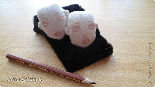 Куклы Мастер-класс Рисование и живопись Второй МК по созданию куклы Darina  роспись лица куклы и создание причёски Карандаш Краска фото 22