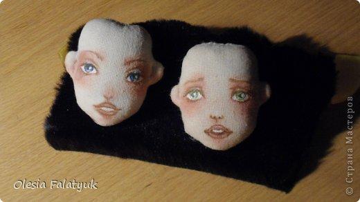 Куклы Мастер-класс Рисование и живопись Второй МК по созданию куклы Darina  роспись лица куклы и создание причёски Карандаш Краска фото 42