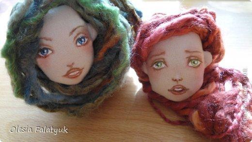 Куклы Мастер-класс Рисование и живопись Второй МК по созданию куклы Darina  роспись лица куклы и создание причёски Карандаш Краска фото 43