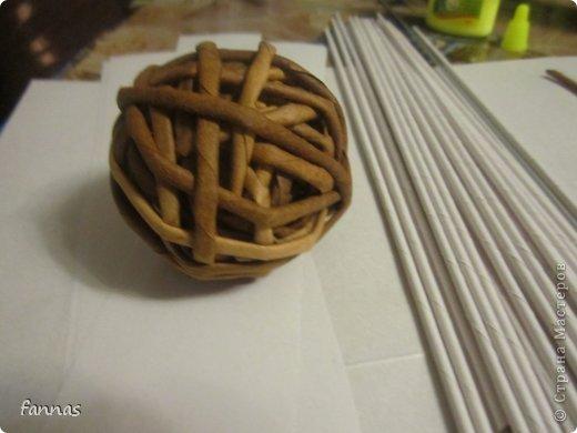 Шары из бумажных трубочек