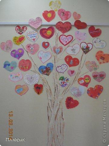 """Такое дерево появилось у нас в школе под вдохновением от участия в арт-проекте """"Волшебный снегопад"""" (https://stranamasterov.ru/node/676650 ).  фото 6"""