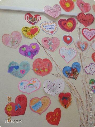 """Такое дерево появилось у нас в школе под вдохновением от участия в арт-проекте """"Волшебный снегопад"""" (https://stranamasterov.ru/node/676650 ).  фото 7"""